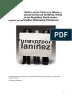 Estudio Cuantitativo Sobre ESC de NNA Rep Dominicana