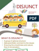 Disjunct