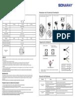 Guía de Instalación-reflector Led Serie Delta (Eis)