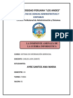 Guerra Informatica - Ayre Santos