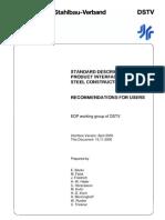 En - Dstv - Part 1 - Standard Description for Product Interface Steel Construction