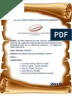 Caratula Estudio Comparativo de Biologia