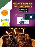 Caso Aplicativo-Intervalos de Dos Media