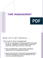 Time Management Power Point