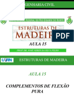 AULA 15 - Complementos de Flexão