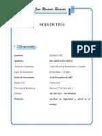 Maria Jose Ricardo Ricardo Hoja de Vida