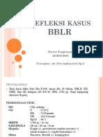 Refleksi kasus BBLR