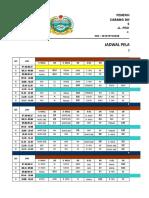 Jadwal Mengajar Dan Kalender Pendidikan
