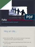 Falta de una Cultura Empresarial Mexico