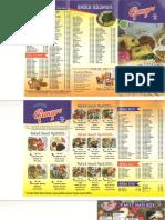 Daftar harga toko kue ganep