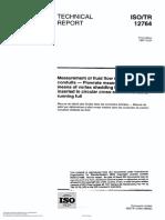 ISO 12764 Flowrate Measurement by Vortex Shedding Flowmeter