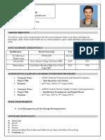 C.v Bilal Electrical Engineer-1