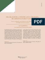 Jose-cepedello Boiso - Praxis, Estética y Política en La Filosofía