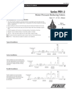 Series PRV-2 Installation Instructions