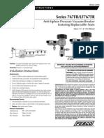767FR/LF767FR Installation Instructions