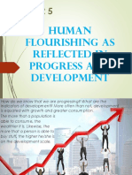 Chapter 5 - Human Flourishing as Reflected in Progress and Development