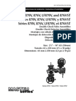 Series 870V, 876V, LF870V, and LF876V Installation Instructions