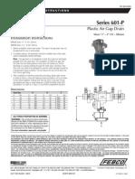 Series 601-P Installation Instructions