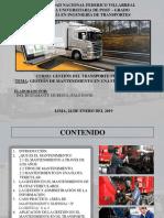 Gestión de Mantenimiento de Flota Vehicular.