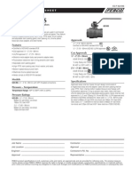 Series 623-BS Specification Sheet