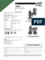 MasterSeries 880V Specification Sheet