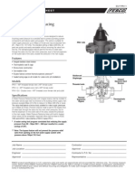 "Series PRV-1 1/2"" – 1"" Specification Sheet"
