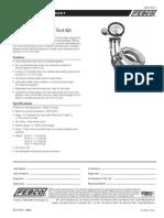 Model TK-1 Specification Sheet