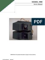 MODEL 3900 Installation Instructions