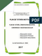 Plan de Tutoría Institucional