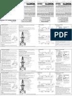 Series X65B and LFX65B Installation Instructions