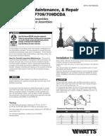 Series 709/709DCDA Installation Instructions