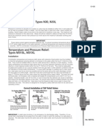 Relief Valves Installation Instructions