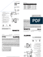 Series 188A, 288A, N388 and LF188A, LF288A, LFN388 Installation Instructions