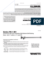Series FH-1-M1, Series FH-2-M1 Installation Instructions