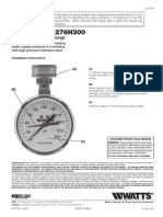 Model 276H300 Installation Instructions