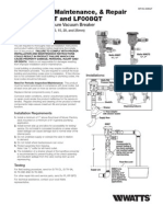 Series 008QT Installation Instructions