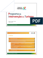 Miguel Mendes - Programa de Intervenção do Turismo 2007-2009