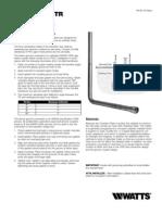 SeriesTR Installation Instructions