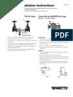 Air Gap Installation Instructions