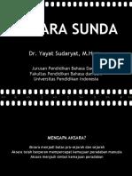 Metode Aksara Sunda