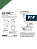 Model N360/N360I Installation Instructions