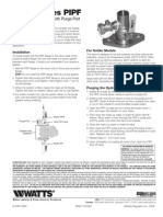 Series PIPF Installation Instructions