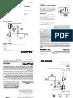 Series 288A-DM Installation Instructions