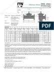 Stainless Series S6500 (Globe) S61500 (Angle) Specification Sheet