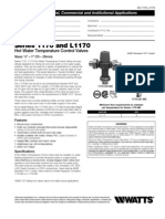Series 1170 and L1170 Specification Sheet