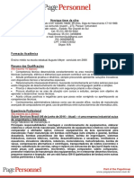 Modelo Curriculo Pagegroup