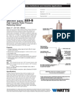 Series 223, 223-S Specification Sheet
