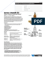 Series 25AUB-Z3 Specification Sheet