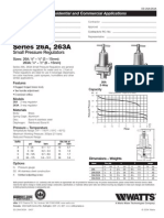 Series 26A, 263A Specification Sheet