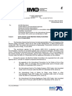 Circular Letter No.3919 - 101St Session of the Maritime Safety Committee(5 to 14 June 2019) (Secretary-General)